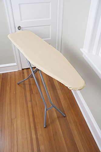 Ritz Professional Heavy Weight Ironing Board Pad and Cover Set. 100% Natural Cotton Cover and Extra Thick, 100% Natural Cotton Pad, Fits Standard Sized 54' Ironing Boards
