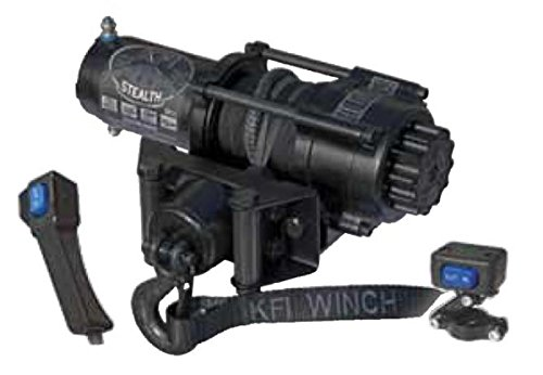 3500 lb KFI Products SE35 ATV Stealth Winch Kit Capacity
