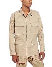 Propper Men's BDU Coat, Khaki, X-Small Regular