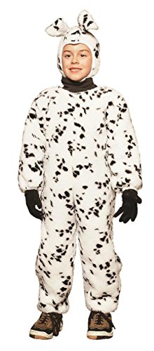 Dalmatian Jumpsuit - Plush Small Costume (Dalmatian Costume Ears And Tail)