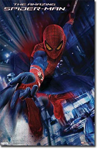 Amazing Spider Man Paper - Pyramid America The Amazing Spiderman Swing Movie Poster 22x34 inch