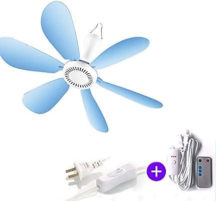 YPY Mini Ventilador de Techo Mudo Micro Ventilador Adecuado para ...