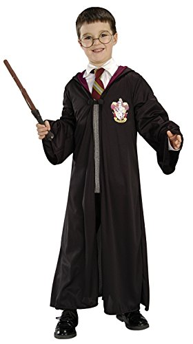 Harry Potter Costume Kit (Ages 8 to 10 Years) (Size : 12-14)