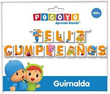 VERBETENA Guirnalda Feliz Cumpleaños Pocoyo y Nina