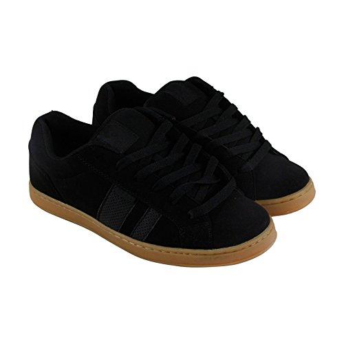 Osiris Men's Loot Skateboarding Shoe, Black/Black/Gum, 12 M US