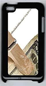 iPod 4 Case, iPod 4 Cases - Folder dollars PC Polycarbonate Hard Case Back Cover for iPod 4¨CBlack