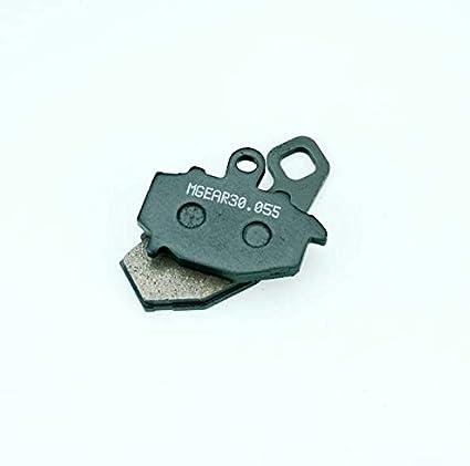 MetalGear Bremsbel/äge hinten f/ür KAWASAKI ZX-6R Ninja 636 2002