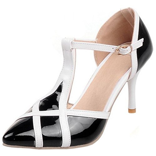 Donna 2 Black Sandali T Zanpa Mode Strap 0qOdw0zB