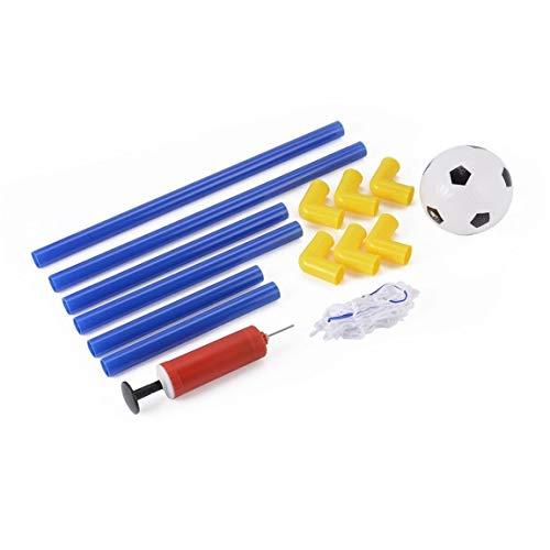 Folding Mini Football Soccer Goal Post Net Set