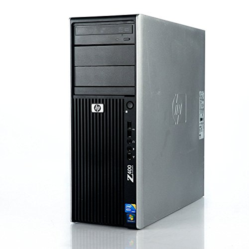 2018 HP Workstation Z400 Business Tower Desktop Computer, Intel Quad-Core Xeon W3520 up to 2.93GHz, 8GB RAM, 500GB HDD, NVIDIA Quadro FX1800, DVDRW, Windows 7 Professional (Certified Refurbished)