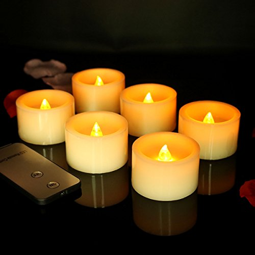 Micandle Flickering Flameless Candles Control