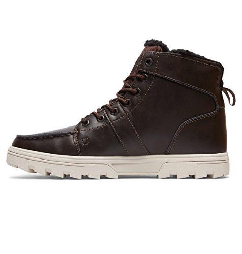de Botas DC Shoes Goma caño Tan bajo Brown Woodland de M Hombre qw1wIU