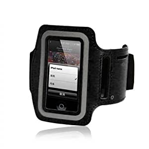 Hooshion® Running Jogging Sports GYM Armband Case Cover Holder for Apple iPod Nano 7 7th Generation Black