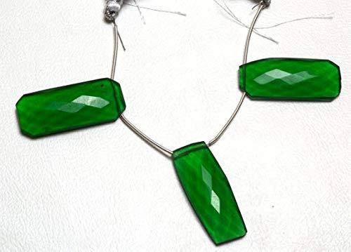 GemAbyss Beads Gemstone 1 Strand Natural Green