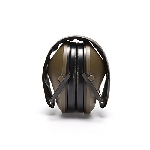 Anti-noise Impact Sport Hunting Tactical Earmuff Shooting Ear Protection Camping by Idealplast