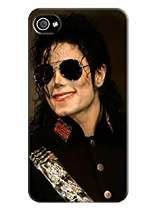 well-designed cool fashionable Cool Michael Jackson Unique Design for iphone 4/4s TPU Phone Case/cover