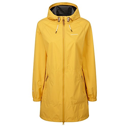 Craghoppers Womens/Ladies Sofia Gore-TEX Paclite Waterproof Jacket (16) (Summer Gold) by Craghoppers
