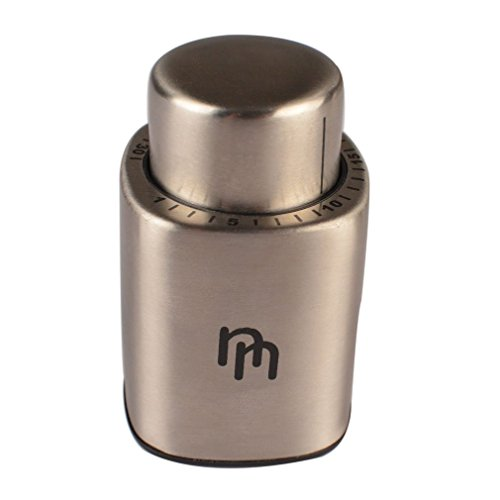Professional Vacuum Pump Sealer Wine Preserver Stopper w/ Date Marker (Vacuum Sealer For Wine compare prices)