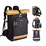 "TARION Pro XP Camera Bag Large Backpack with 15"" Laptop Compartment Rain Cover"