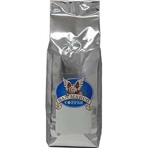 San Marco Coffee Flavored Whole Bean Coffee, Christmas Cake, 1 Pound