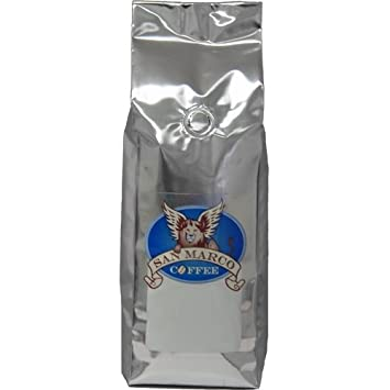 San Marco Coffee Flavored Ground Coffee, Peanut Butter Cup, 1 Pound