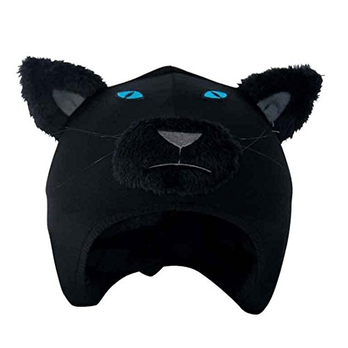 Coolcasc-Black-Panther-Ski-Snowboard-Snow-Bike-Bicycle-Cool-Animal-Helmet-Cover