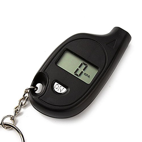Boddenly Hot Sale!! Portable Keychain LCD Digital Tire Tyre Air Pressure Gauge Car Auto Tools … (Digital Tire Gauge Keychain)