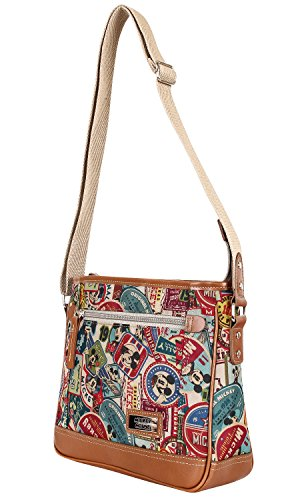 Disney - Canvas Shoulder Bag For Women - Mickey Mouse