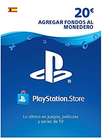 TARJETA PSN CARD 20€ | Código de descarga PSN - Cuenta española ...