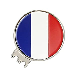 PINMEI National Flag Ball Marker Magnetic Golf Hat Clip