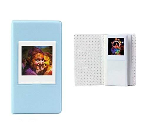 niuniuwox Álbum de Fotos para Fujifilm Instax Square SQ10 Instant Camera Film [64 Bolsillos] (Azul)