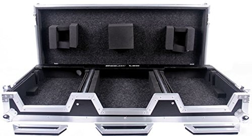 DEEJAY LED TBHDJM9HCDJ2KW Fly Drive Case For Two Pioneer CDJ2000 CD Player Plus One Pioneer DJM900 Nexus Mixer or Similarly (Nexus Led)
