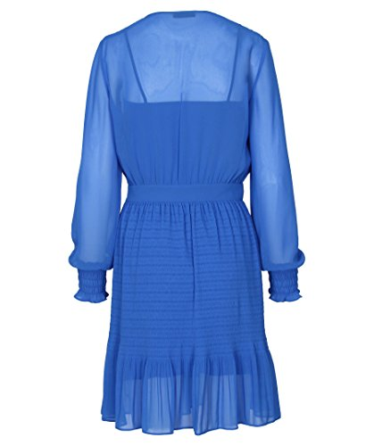 1 Blau Kleid Kurina 50385685 430 für Damen HUGO aEY4dqa