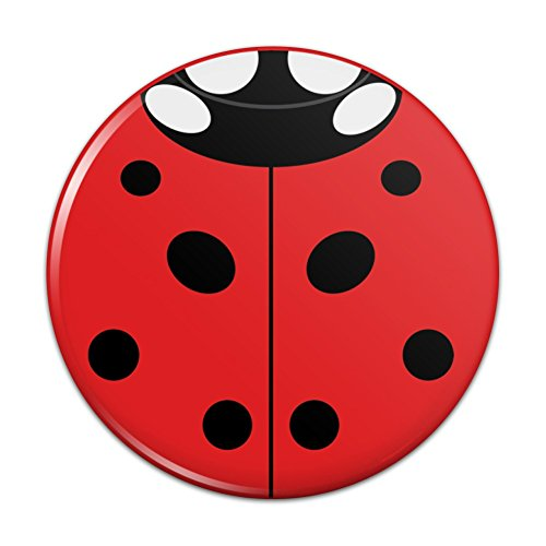 Lady Bug Ladybug Insect Compact Pocket Purse Hand Cosmetic Makeup Mirror - 3