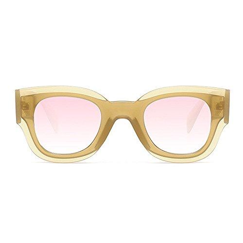 C5 Designer Full Couleur Vacances UV Lunettes Femmes de la pour pour KOMEISHO C5 Plage Personnalité Protection Brillants Nuances Conduite Soleil Été Hommes Frame nouveauté Grand BxgwUqEW
