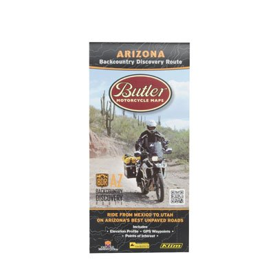 - Butler Maps Arizona Backcountry Discovery Routes Map,