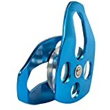ProClimb 30kN Aluminum Rope Pulley with Swing Plate