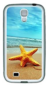 Lilyshouse Starfish on the Beach 003 Samsung Galaxy S4 I9500 Rubber Shell with White Edges Cover Case by ruishername