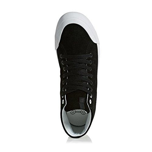 Dc Skate Shoes Evan Hi Zero Skate Shoes - Black/Black/White
