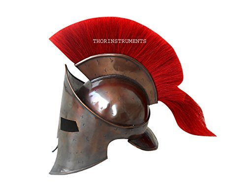 thor-instrumentsco-300-king-leonidas-spartan-helmet-red-plume-greek-helmet-larp-replica-brass-antiqu
