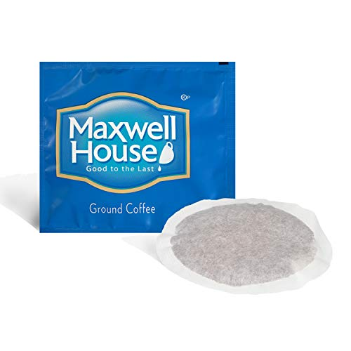 - Maxwell House Ground Coffee (0.7 oz Bags, Pack of 100)