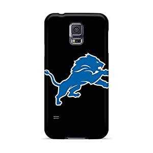 ErleneRobinson Samsung Galaxy S5 Shock Absorbent Hard Phone Cover Unique Design Fashion Detroit Lions 7 Image [Srn10168TCcq]