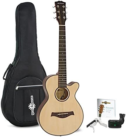 Guitarra Acustica Single Cutaway 3/4 + Accesorios de Gear4music ...