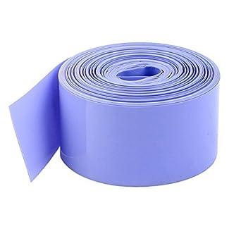 eDealMax 29,5 mm / 18,5 mm PVC termorretráctiles Wrap 10M Para 18650