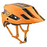 Fox Racing Flux Helmet Rush Atomic Orange, L/XL