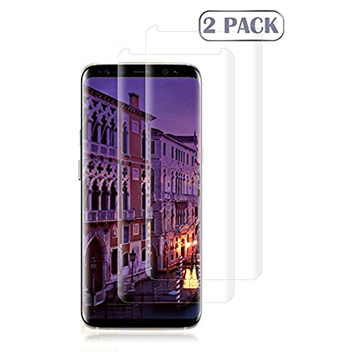 EcoPestuGo Compatible[2Pack] Samsung Galaxy S9 Tempered Glass Screen Protector, EcoPestuGo - 9H Hardness,Anti-Fingerprint,Ultra-Clear,Bubble Free Screen Protector Compatible Galaxy S9 by EcoPestuGo
