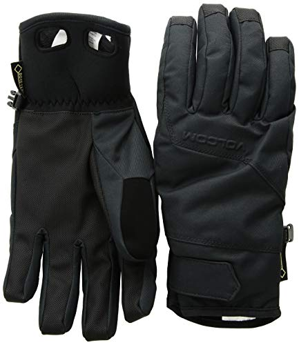 Volcom Face - Volcom Men's CP2 Gore-Tex Waterproof Snow Glove, black Large