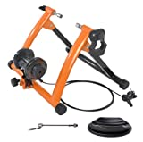 Conquer Indoor Exercise Bike Trainer Stand, Orange For Sale