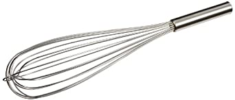 """Carlisle 40683 18"""" Stainless Steel Sparta Chef Series French Whip (Case of 2)"""