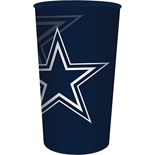 Dallas Cowboys 22oz Plastic Stadium Cup (1 ct)